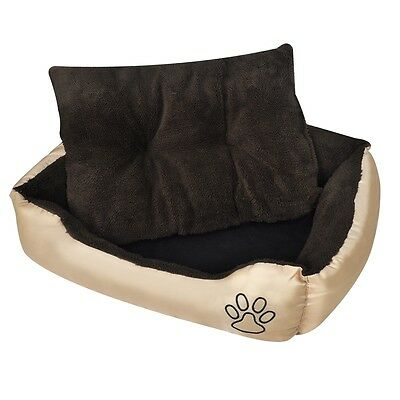 Puppy Pet Dog Cat Bed Soft Fur Washable Water-repellent XXXL for Doghouse Indoor