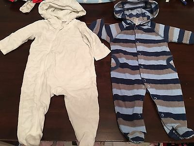 Baby Boys One Piece Outer Wear Winter Tiny Wonders  00 Jumpsuit