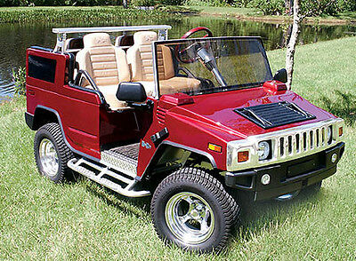HUMMER H2-Custom Golf Cart BODY KIT fits Club Car DS or EZGO TXT LIMITED SUPPLY