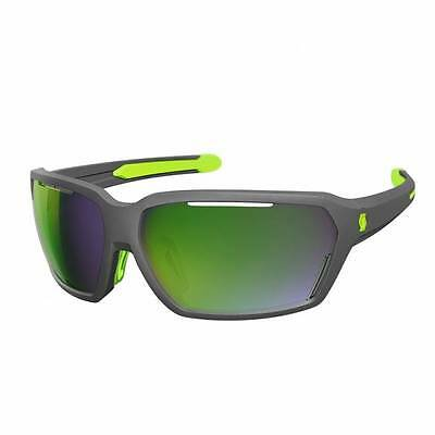 Lunettes Scott Vector grey matt /green / green chrome