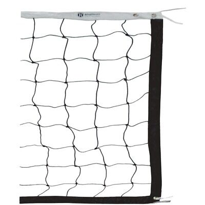 Ringmaster Tournament Wire Cord Volleyball Net - Nylon Top (Vynv450W)