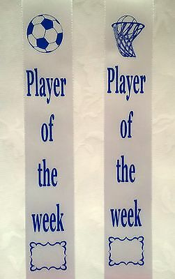 Award Ribbons Soccer Player of the week -  Soccer