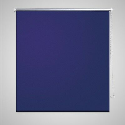New Quality Roller Blind Blackout Thermal Easy Installation 40 x 100 cm Blue