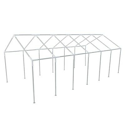 New Steel Frame for 12 x 6 m Party Tent Rust-resistant Easy To Assemble Durable