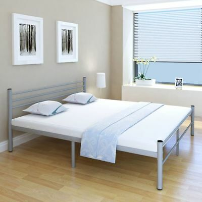 6FT Super King Double Metal Bed 180x200cm Bedroom Furniture Strong