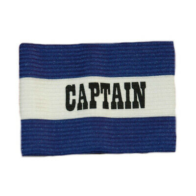 Patrick Captains Armband - Royal/white - Senior / Junior - Poly Cotton Band