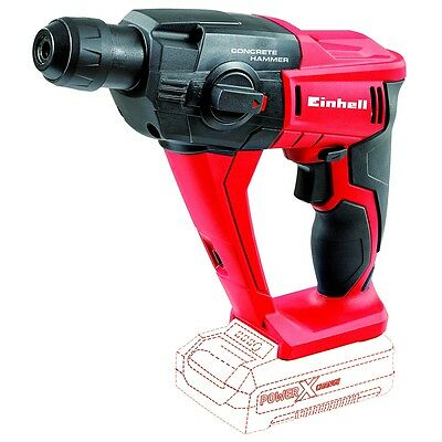 Einhell Cordless Rotary Hammer TE-HD 18 Li-Solo Quick-stop Screwing Drilling