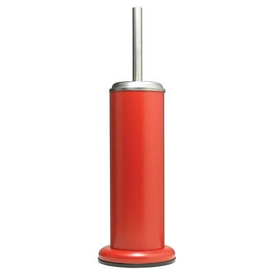 Sealskin Toilet Brush and Holder Acero Bathroom Cleaning Standing Red 361730559