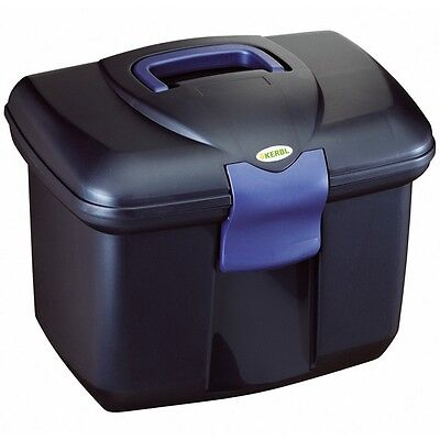 Kerbl Horse Pony Equestrian Grooming Cleaning Storage Box Plastic Roma 321770