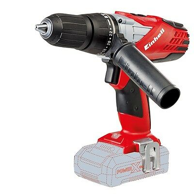 Einhell Cordless Impact Drill TE-CD 18-2 Li-i Solo for Screwdriving Drilling