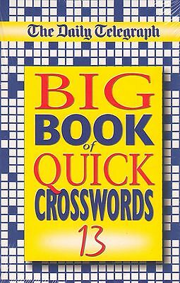 The Daily Telegraph Big Book of Quick Crosswords 13 NEW BOOK (Paperback 2004)
