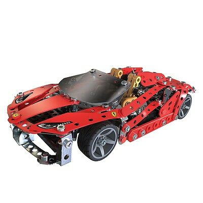 Meccano Ferrari 488 Toy Car Spider Kids Construction Vehicle Child Gift 6028974