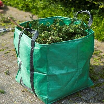 Nature Garden Leaves Waste Rubbish Bag 2 Handles 252L Reusable Recycling 6072405