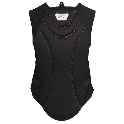 Covalliero Horse Riding Body Protector Black ProtectoSoft for Adults L 324505