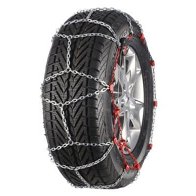 Pewag 2 pcs Snow Chains for Car Van Vehicle Wheels Tyres RSV 80A SERVO SUV 37153