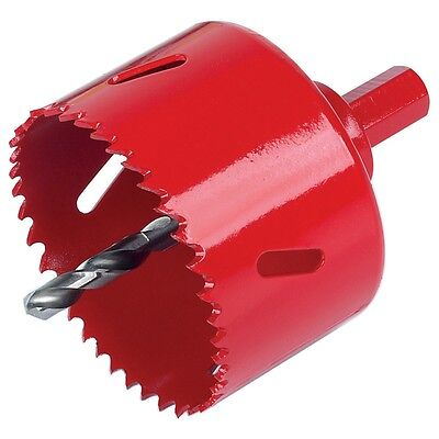 Wolfcraft Hole Saw Drill Bit Cutting Cutter Round 68mm with Hex Shank 5474000