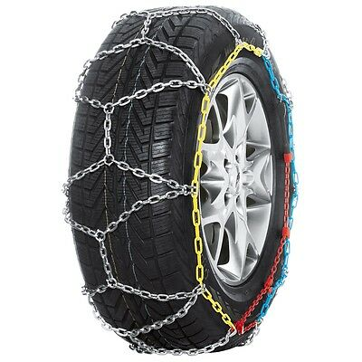 Pewag 2 pcs Snow Chains for Car Vehicle Wheels Tyres XMR 74 V Brenta-C 4x4 62039
