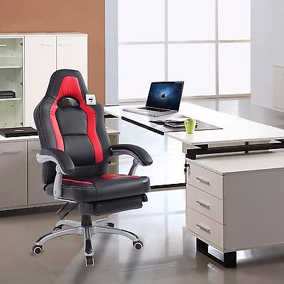 Gaming Office Reclining Chair Executive Racing Style Computer Versatile Chair