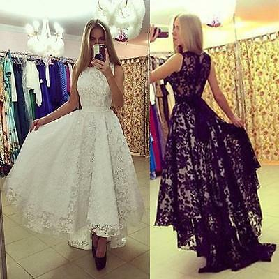 Women Long Evening Party Ball Prom Gown Formal Bridesmaid Cocktail Dress Fashion