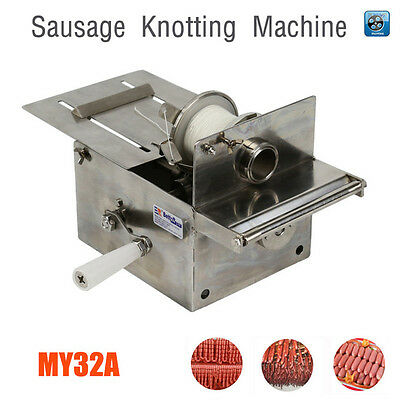 Handle Stainless steel sausage knotting machine,sausage casings binding machine