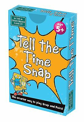 Tell the Time Snap + Pairs Card Game - BrainBox - Maths & Teaching Resource
