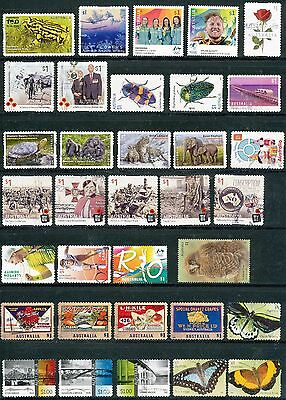 Australian Stamps Mixture of $1.00 2016-2017 Stamps Recent/Used/Bulk