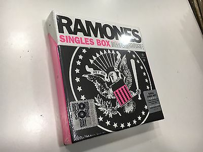 Ramones Single Box  Rsd 2017 Limited Edition