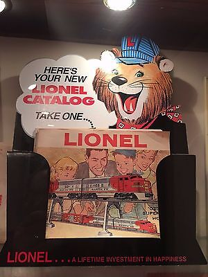Lionel dealer catalog store display re-make from 20 years ago, new in sealed box
