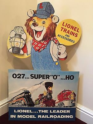 Lionel Lenny the Lion swinging dealer store display 1996 remake sealed in the bo