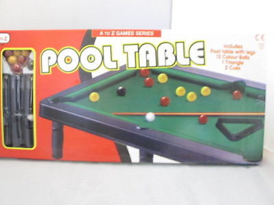 A-Z Kids Mini Pool Table Table Top Game