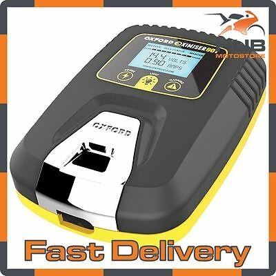 Oxford Oximiser 900 UK Battery Charger Motorbike Motorcycle Car Optimiser