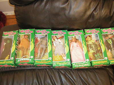 The Wizard Of Oz Mego Set Of 7 In The Boxes Vintage The Wizard In His Box   1973