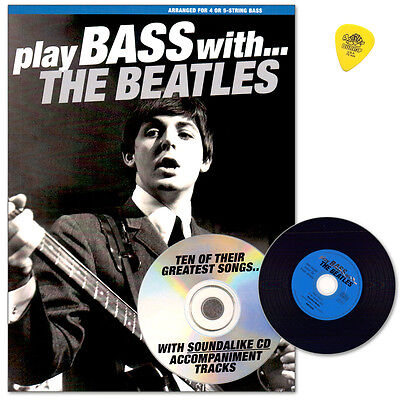 Play Bass With the Beatles - mit CD - Music Sales - NO90904 - 9780711992702