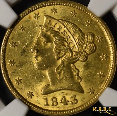 1885 MS64 PCGS 5$ Gold Liberty Half Eagle, A Lustrous Beauty! Rarely this nice!