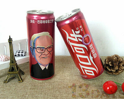 2017 New China Version Coca Cola Cherry 330ml empty can ~~Warren Buffett