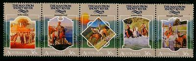 Australia 1987 MNH MUH Strip - The Man from Snowy River