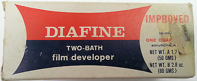 Daifine film developer 2 bath makes 1 quart