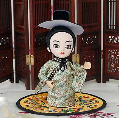 5'' Handmade Q Version Figurine Ethnic Minority Chinese Korea boy Asian Doll