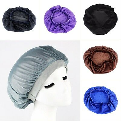 Pure Silk Night Cap For Long Curly Hair Care Scarves Bonnet Sleep Sleeping Hat