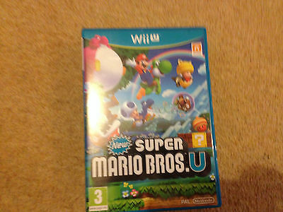 New Super Mario Bros For The Nintendo Wii U