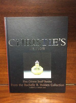 Christie's Fine Chinese Snuff Bottles From The Rachelle R. Auction Catalog 2000