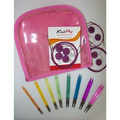 KnitPro Spectra Trendz Acrylic DeLuxe Needle Set 50618 Knitting multicolor