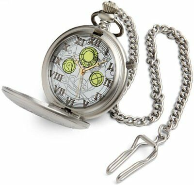 DOCTOR WHO Masters METAL Prop Replica FOB Watch - NON-WORKING RETURNS