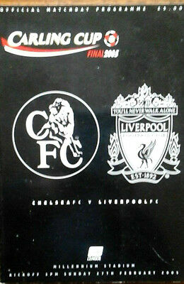 Chelsea V Liverpool 27/2/2005 League Cup Final