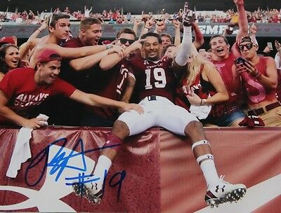 Robby Anderson Signed Autographed 8X10 Photo Temple New York Jets Star Coa