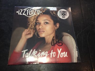 "Izzy Bizu - Talking To You 7"" Signed Numbered New Mint Sealed Rsd 2017"