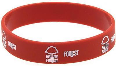 Nottingham Forest FC Silicone WRISTBAND Licensed Official FOREST Merchandise