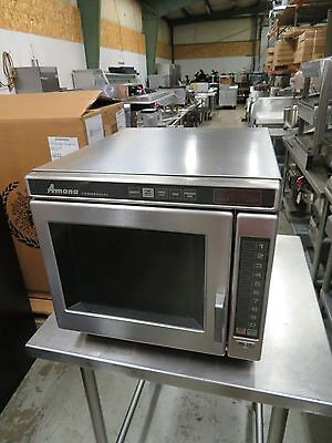Amana RC17 Heavy Duty Stainless Steel Commercial Microwave Oven w/ Push Buttons