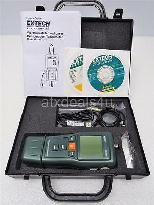 Extech Instruments Vibration Meter and Laser Combination Tachometer P/N 461880