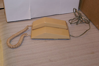 Vintage ITT Northern Telecom Beige Contempra Wall Desk Rotary Telephone WORKS